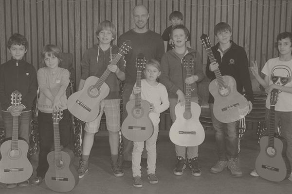 Gruppenphoto von mir und meinen Schülern in Wannsee